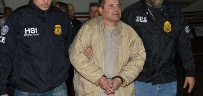 El Chapo está en una prisión de máxima seguridad de Estados Unidos.