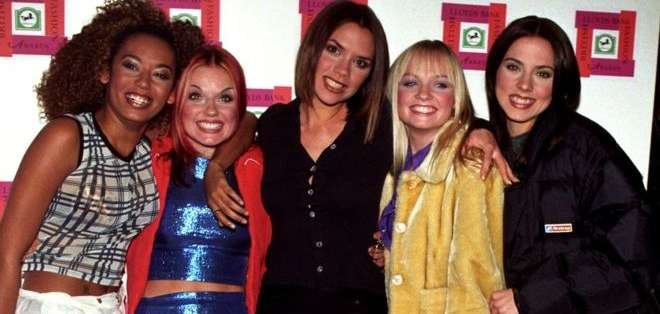 Las Spice Girls en 1996