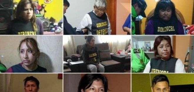 Los capturados responderán a cargos de tráfico humano.