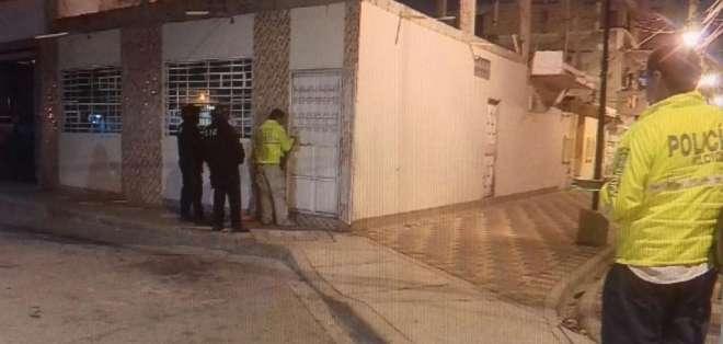 Los agentes buscaban desarticular una banda dedicada al asesinato y otros delitos. Foto: Televistazo Comunidad/Ecuavisa