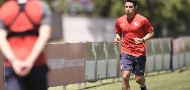 El volante hizo gol y fue elegido el jugador del partido ante San Martín de Tucumán. Foto: Tomada de @Independiente