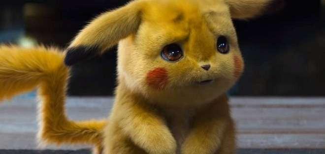Pikachu en su nueva versión: como un muñeco de peluche que además tiene habilidades de detectives. Foto: WARNER BROS