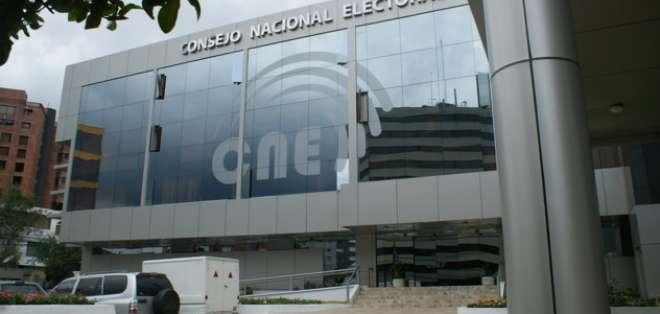 El nuevo CNE quedaría designado este viernes. Foto: Archivo