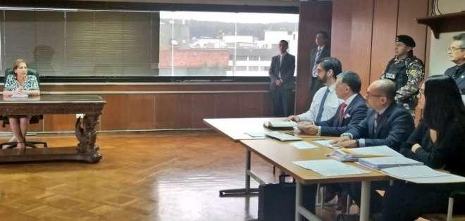 QUITO, Ecuador.- Paul Ceglia permecerá con prisión preventiva hasta que se tramite su retorno. Foto: Corte Nacional.