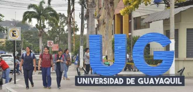Preocupación en la Universidad de Guayaquil por posible reducción de presupuesto. Foto: @PublicaFM
