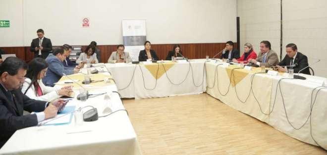 El proceso en la Asamblea fue impulsado por la legisladora Mae Montaño. Foto: Twitter Asamblea