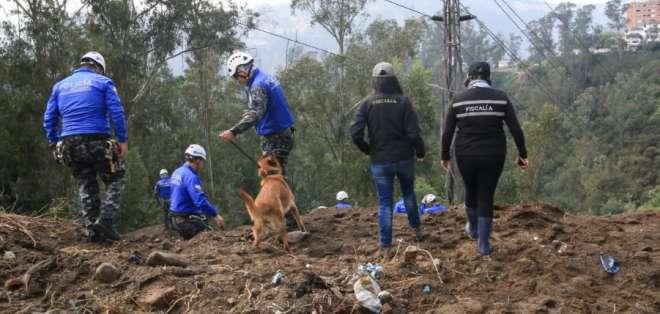 Continúa la búsqueda de Juliana Campoverde en Bellavista. Foto: Fiscalía Ecuador
