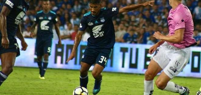 GUAYAQUIL, Ecuador.- Los 'azules' igualaron 0-0 con el equipo andino en el estadio George Capwell. Foto: API.