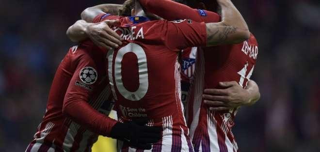 El equipo español superó 2-0 al Mónaco de Francia. Foto: OSCAR DEL POZO / AFP