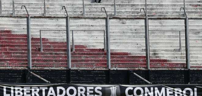 River ahora no quiere jugar en Madrid la Superfinal. Foto: AFP