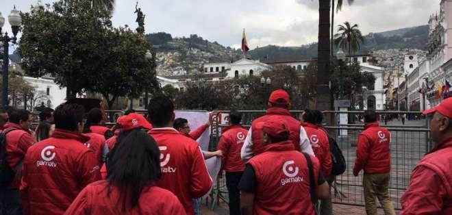 QUITO, Ecuador.- La secretaria Nacional de Gestión Política instó a realizar reclamos de forma pacífica. Foto: Ma. Paula Romo.