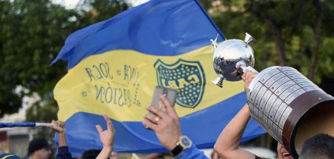 BUENOS AIRES, Argentina.- El club desea obtener su séptima Copa Libertadores. Foto: AFP