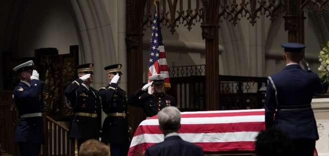 El 41º presidente estadounidense, fallecido el viernes a los 94 años. Foto: AFP
