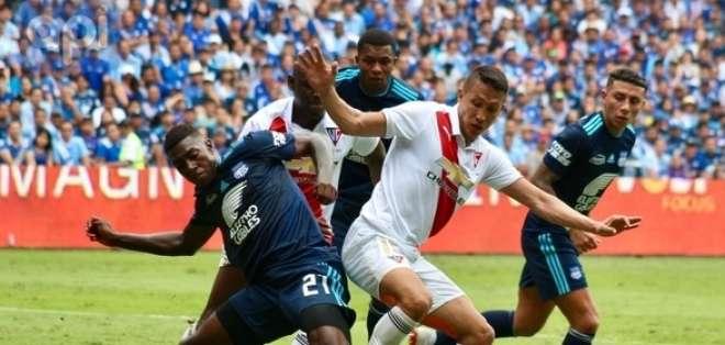 El último domingo, Emelec no pudo vencer a Liga de Quito en su estadio. Foto: API