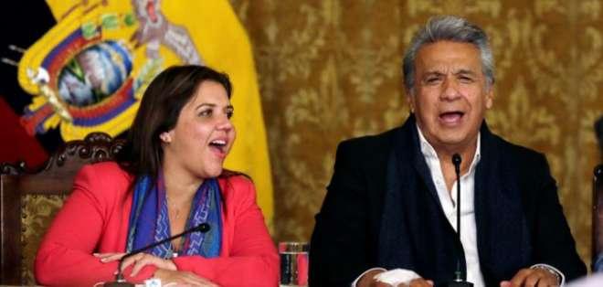 Moreno remite hoy la terna para designar a vicepresidente. Foto: AP/Dolores Ochoa