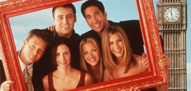La serie de TV 'Friends' se grabó entre 1994 y 2004.