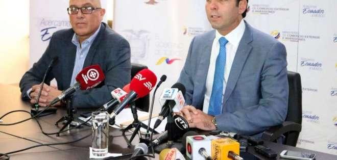 Según ministro Campana, estos acuerdos serán distintos a los firmados con Correa. Foto: Ministerio de Comercio Exterior