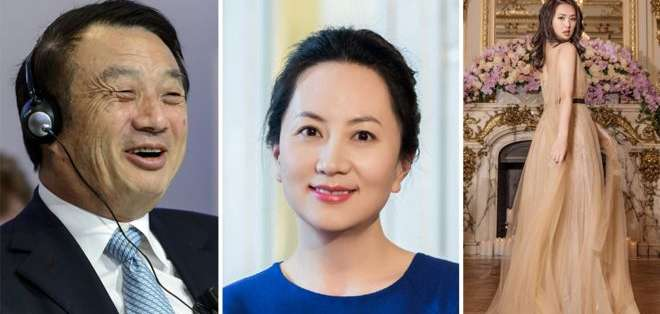 La mayoría de la dinastía dueña de Huawei se ha mantenido siempre alejada de la luz pública.