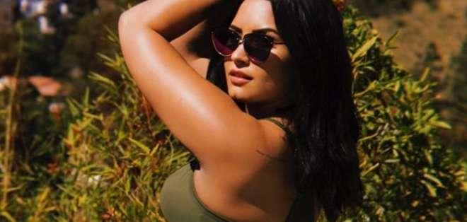 Demi Lovato compartió su mejoría en redes sociales. Foto: IG