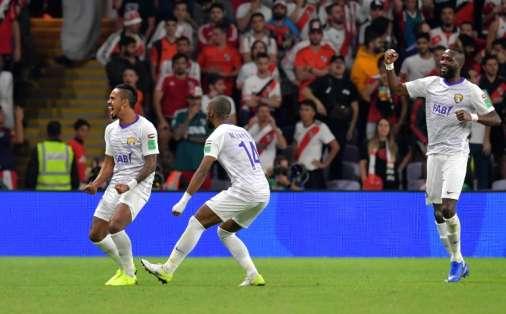 El equipo emiratí es el anfitrión y la gran sorpresa del torneo internacional. Foto: Giuseppe CACACE / AFP