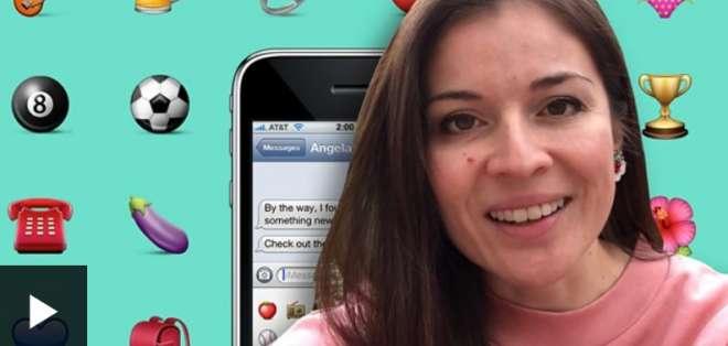Ángela Guzmán ideó varios emoticonos durante su pasantía en Apple.