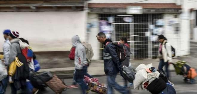 En Ecuador, unos 250 mil migrantes venezolanos permanecen en nuestro país. Foto: Archivo / AFP