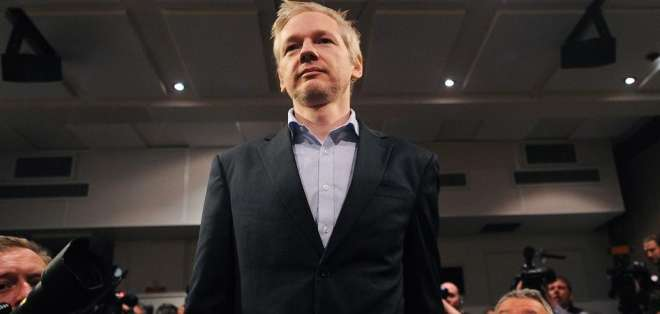 Justicia de Ecuador niega a Assange cambiar las normas que regulan su asilo. Foto: AFP