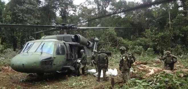 Fiscalía de Colombia publica la que sería la última foto de 'Guacho'. Foto: Referencial