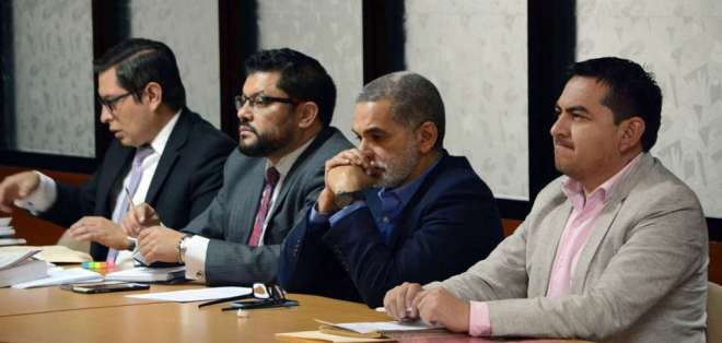 Entre los procesados está el exsecretario de Comunicación, Fernando Alvarado. Foto: Archivo API