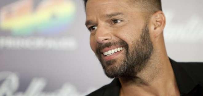 Ricky Martin se convirtió en padre de una niña. Foto: AFP - Archivo