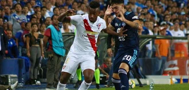 El volante ecuatoriano aún no renueva con los 'albos' y Fluminense tiene oferta 'azul'. Foto: API