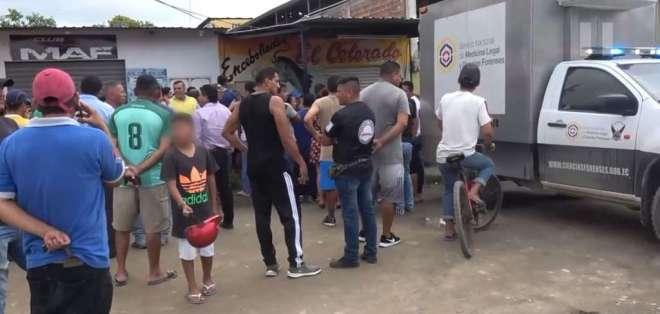 UNIÓN LOJA, Ecuador.- Dos extranjeros serían los principales implicados en este crimen. Foto: Captura Video.