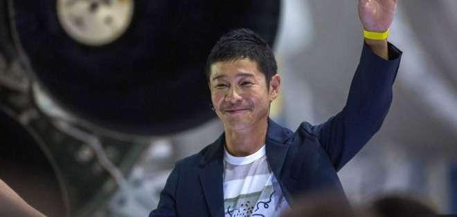 Yusaku Maezawa tiene un imperio de la moda en Japón que factura millones de dólares.
