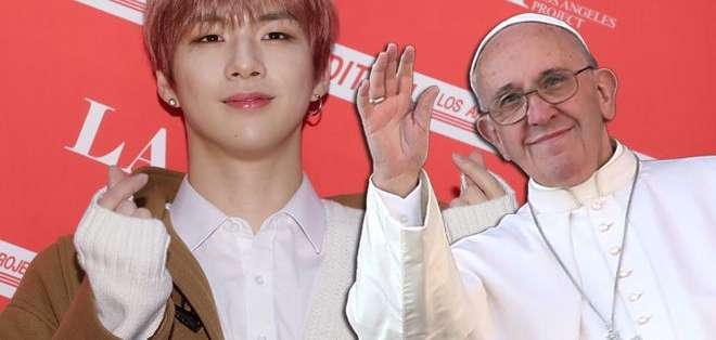 Kang Daniel logró antes que el papa Francisco tener más seguidores en Insgram.