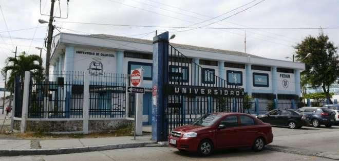 GUAYAQUIL, Ecuador.- El próximo 15 de enero culminará el periodo de intervención dentro de la universidad. Foto: archivo