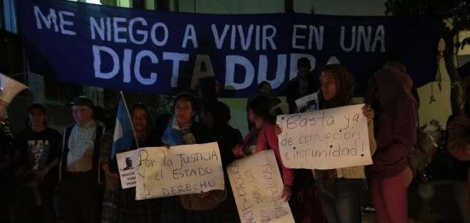 La justicia frena el cierre de la misión anticorrupción de la ONU en Guatemala. Foto: AFP