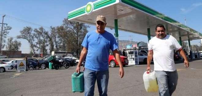 Varios estados de México han tenido que racionar el combustible.
