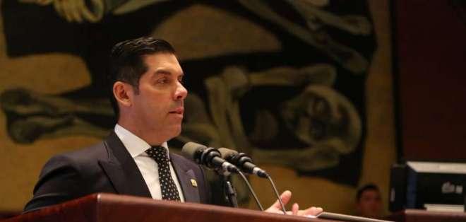 Andrés Madero quedará encargado del Ministerio de Trabajo. Foto: Twitter Raúl Ledesma
