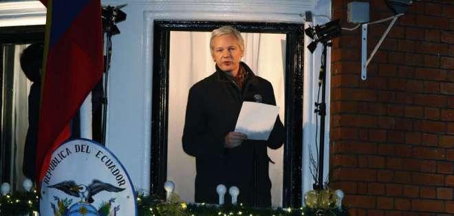 Según el Gobierno, se garantizan los derechos humanos del fundador de WikiLeaks. Foto: Archivo AP