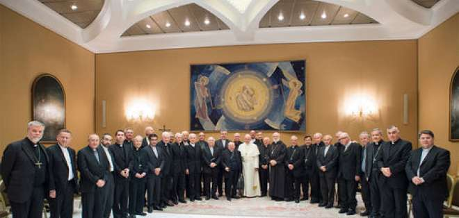 En mayo de 2018, 34 obispos chilenos renunciaron en medio de escándalos de abusos sexuales. Foto: AFP