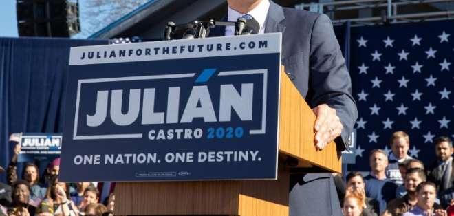 Exministro de Obama busca ser el primer presidente hispano de EEUU. Foto: AFP