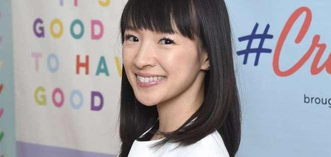 La japonesa Marie Kondo, de 34 años, se ha convertido en un fenómeno con sus consejos sobre el orden.
