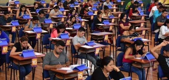 A nivel internacional el examen también se tomará a 101 aspirantes en 15 países. Foto: Twitter