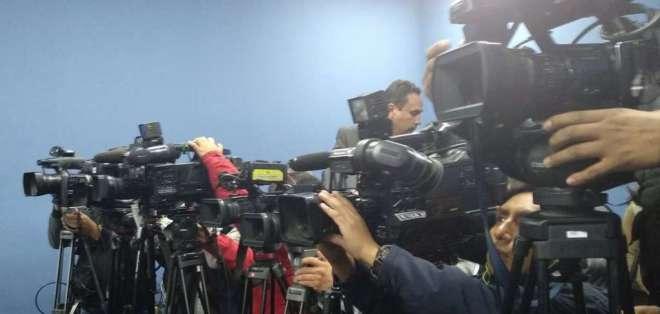 Asamblea y Unión Nacional de Periodistas se pronuncian sobre Ley de Comunicación. Foto: Archivo