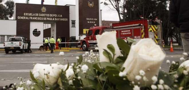 El atentado en Bogotá dejó 21 muertos y 68 heridos. Foto: AFP