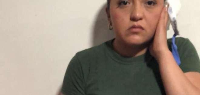 Padres de ecuatoriana herida revelan cómo se salvó su hija.
