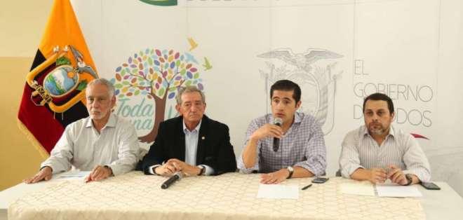 Presidente Moreno dijo que la condición será que entren a invertir. Foto: Secom