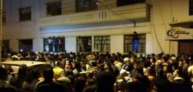 IBARRA, Ecuador.- Una serie de incidentes contra venezolanos se suscitaron en la capital de Imbabura. Foto: Redes