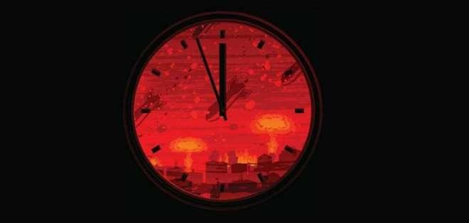 INTERNACIONAL.- La herramienta fue creada en la Guerra Fría para advertir de los riesgos del fin de mundo. Foto: Archivo
