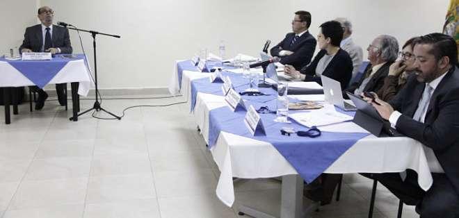 QUITO, Ecuador.- Consejo de Participación transitorio acogió lista presentada por la comisión calificadora. Foto: API